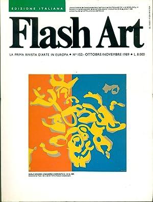 Flash Art. Ottobre/Novembre 1989, N. 142: FLASH ART La