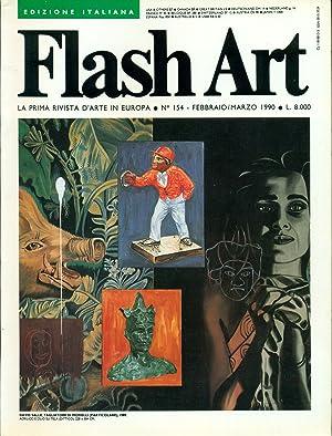 Flash Art. Febbraio/Marzo 1990, N. 154: FLASH ART La