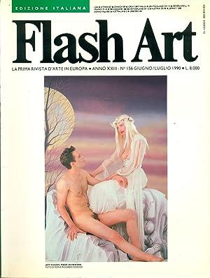 Flash Art. Giugno/Luglio 1990, N. 156, Anno: FLASH ART La