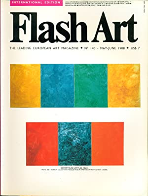 Flash Art. May/June 1988, N. 140: FLASH ART The