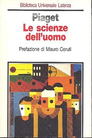 Le scienze dell'uomo: PIAGET Jean