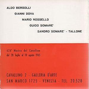 Aldo Bergolli Gianni Dova Mario Rossello Guido: PATANI Osvaldo (a