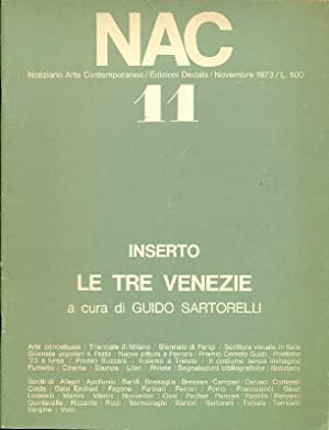 NAC. Novembre 1973. Numero 11.: NAC Notiziario Arte