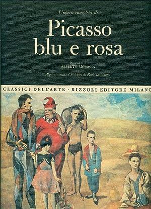 L'opera completa di Picasso blu e rosa: PICASSO, Pablo (Malaga,
