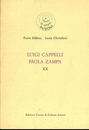 Luigi Cappelli Paola Zampa: CAPPELLI, ZAMPA -