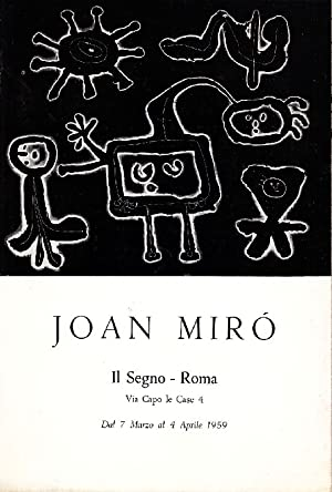 Joan Mirò: MIRO', Joan (Barcellona
