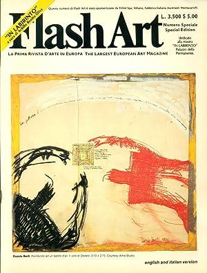 Flash Art. 1981. Numero Speciale. Special Edition.: FLASH ART La