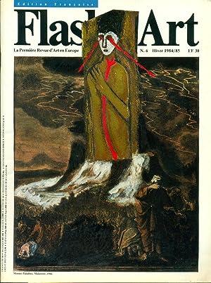Flash Art. Hiver 1984/85, N. 6: FLASH ART La