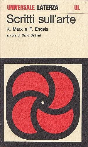 Scritti sull'arte: MARX Karl, ENGELS