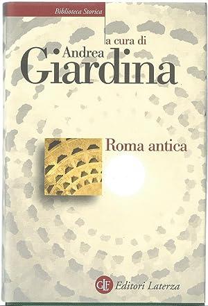 Roma antica: GIARDINA, Andrea