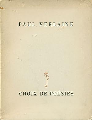 Choix de Poesies: VERLAINE, Paul (Metz,