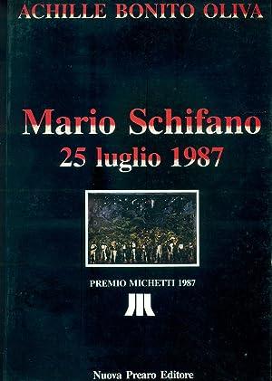 Mario Schifano. 25 luglio 1987. Premio Michetti: SCHIFANO, Mario (Homs,