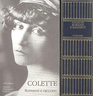 Romanzi e racconti: COLETTE, Sidonie-Gabrielle (Saint