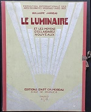 Le Luminaire et les Moyens d'Eclairages Nouveaux: JANNEAU, Guillaume (France,