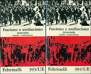 Fascismo e antifascismo (1918-1936) - (1936-1948). Lezioni: AA. VV.