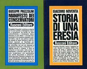 Manifesto dei conservatori: PREZZOLINI, Giuseppe (Perugia,