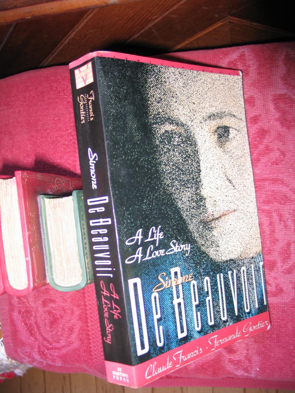 Simone de Beauvoir: A Life: A Love Story (Book 1); The Second Sex (Book 2)
