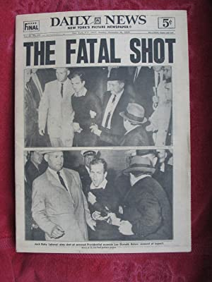 THE FATAL SHOT. Jack Ruby Aims Shot: Beers, Jack; Jackson,