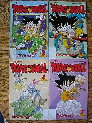 Dragon Ball (VIZ Select Comics)(Volumes 1-4): Toriyama, Akira; Morimoto, Mari (Translator from the ...