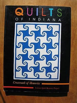 The Quilts of Indiana: Crossroads of Memories: Goldman, Marilyn; Wiebusch,
