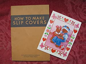 How to Make Slip Covers (Detroit Free: Parrott, Irene