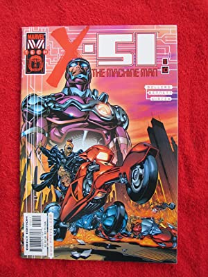 X-51 The Machine Man #10 [May, 2000]: Bennett, Joe; Bollers,