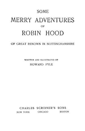 the adventures of robin hood book report The the merry adventures of robin hood community note includes chapter-by-chapter summary and analysis, character list, theme list, historical context, author biography and quizzes written.