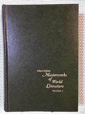 Masterworks of World Literature Volume I Third: Brown, Everett, Harrison