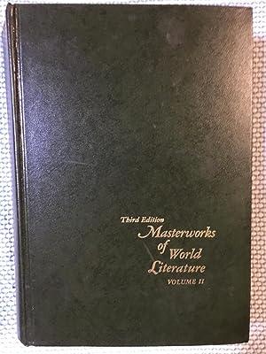 Masterworks of World Literature Volume II Third: Brown, Everett, Harrison