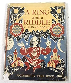 A Ring and a Riddle. Dustjacket Only: M. Ilin and