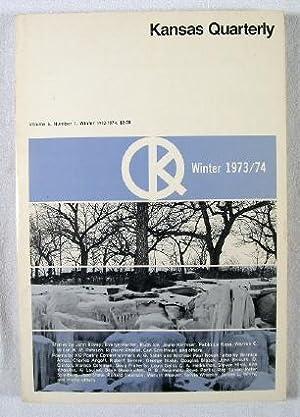 Kansas Quarterly : Volume 6, Number 1,: Hind, Steven, and