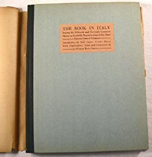 The Book in Italy During the Fifteenth and Sixteenth Centuries