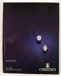 Christie's : Important Jewels : December 10,: Christie's [Auction Catalogue]