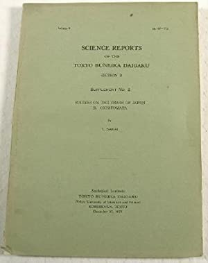 Studies on the Crabs of Japan. I. Dromiacea. Science Reports of the Tokyo Bunrika Daigaku. Sectio...