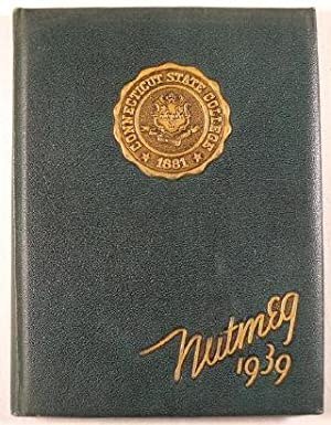 Nutmeg 1939. Connecticut State College [University of Connecticut] Yearbook