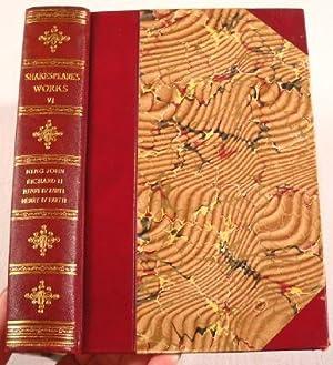 King John; Richard II; Henry IV Part: Shakespeare, William. Edited
