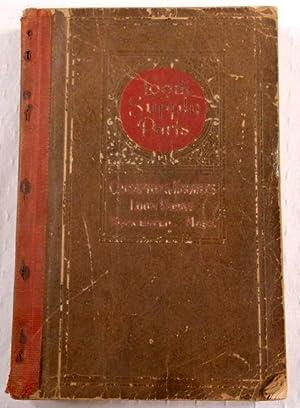 Loom Supply Parts. Crompton & Knowles Loom Works, Worcester, Mass. Catalog: Crompton & Knowles ...