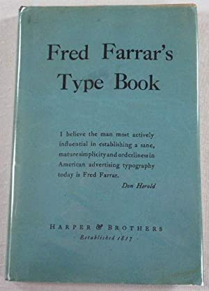 Fred Farrar's Type Book