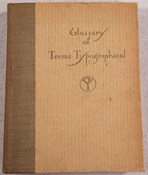 Glossary of Terms Typographical with the Appendix Removed