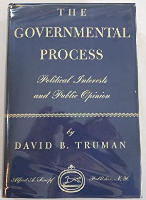 The Governmental Process: Political Interests and Public Opinion