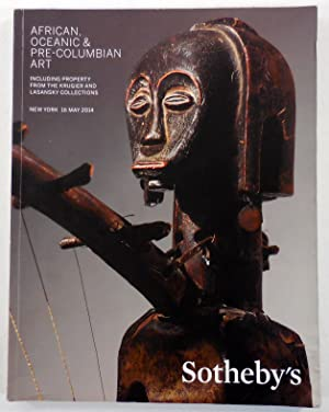 Africa, Oceanic & Pre-Columbian Art. New York: 16 May 2014. Including the Property from the Krugi...