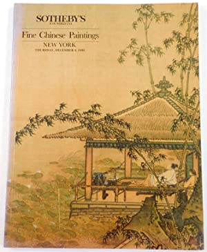 Fine Chinese Paintings. New York: December 4, 1986
