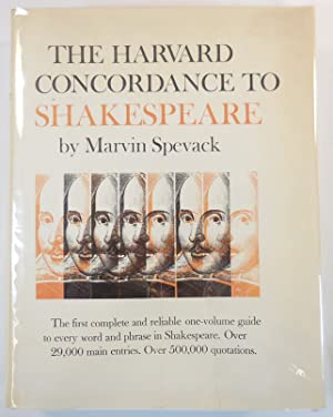 The Harvard Concordance to Shakespeare