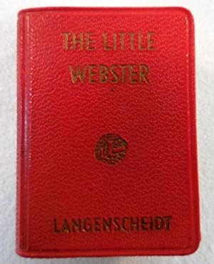 The Little Webster: A Lilliput Dictionary [Miniature]