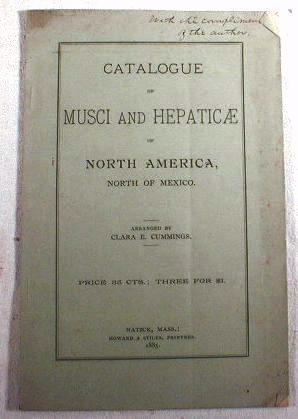 Catalogue of Musci and Hebaticae of North America, North of Mexico