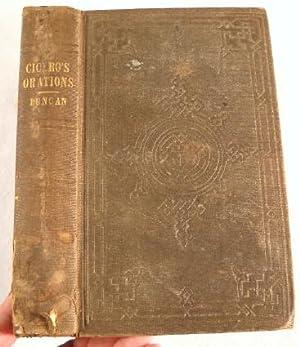 Select Orations of Marcus Tullius Cicero: Translated: Cicero [Marcus Tullius].