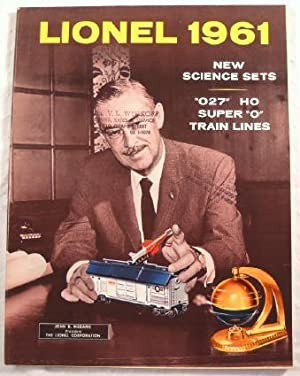 Lionel 1961. New Science Sets. 027 HO Super O Train Lines. Catalog with Medaris Cover