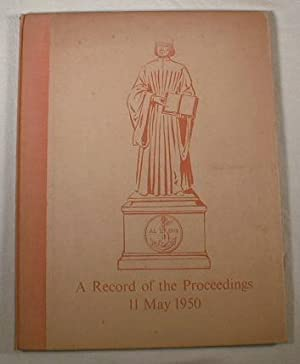 A Records of the Proceedings at The: Limited Editions Club