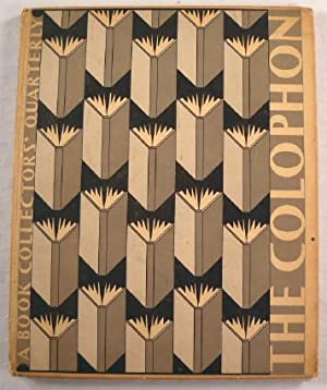 The Colophon: A Book Collectors' Quarterly Part Two