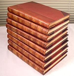 The New America and The Far East. Eight Volume Set. A Picturesque and Historic Description of The...